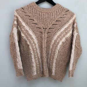 Ecote | Urban Cable Knit Pullover Neutral Sweater